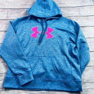 GIrls sz XL dri-fit Under Armour hooded sweatshirt